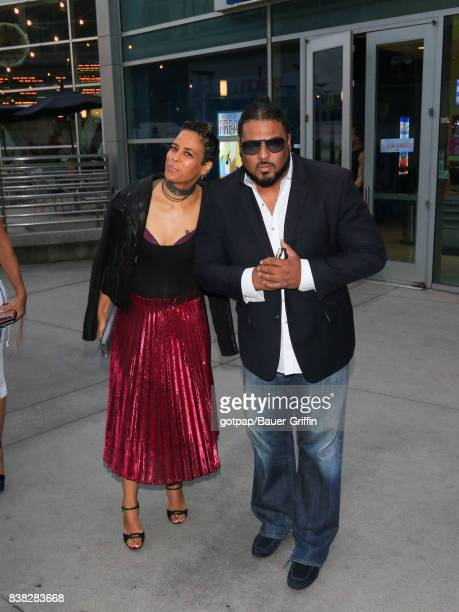 Daphne Wayans and AL B Sure are seen on August 23 2017 in Los Angeles California