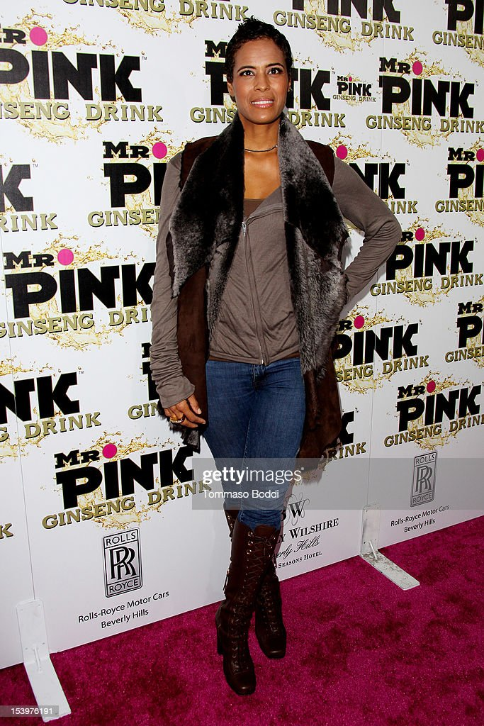 Daphne Wayans attends the Mr. Pink ginseng drink launch party held at the Regent Beverly Wilshire Hotel on October 11, 2012 in Beverly Hills, California.