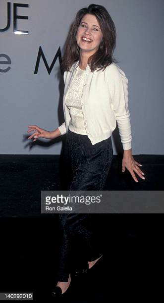 Daphne Zuniga at the Calvin Klein Fashion Show Benefiting MS Saks Fifth Avenue Beverly Hills