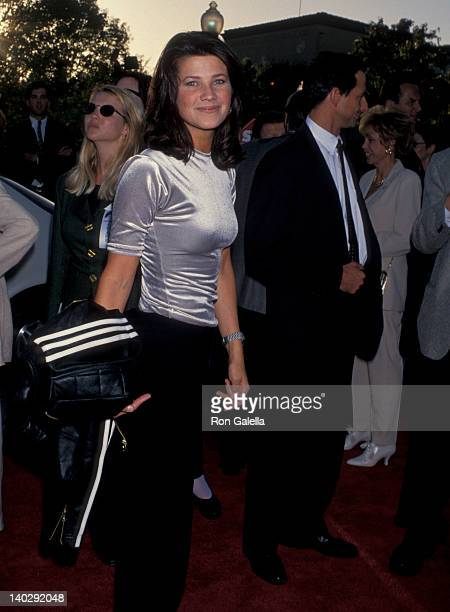 Daphne Zuniga at the Premiere of 'A Clear And Present Danger' Paramount Studios Hollywood