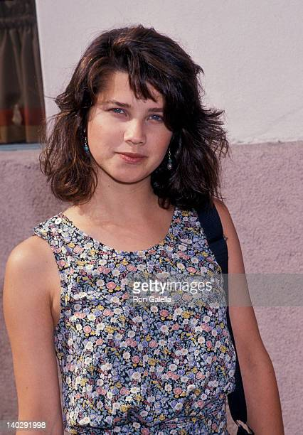 Daphne Zuniga at the Show Coalition Party Lorimar Studios Hollywood