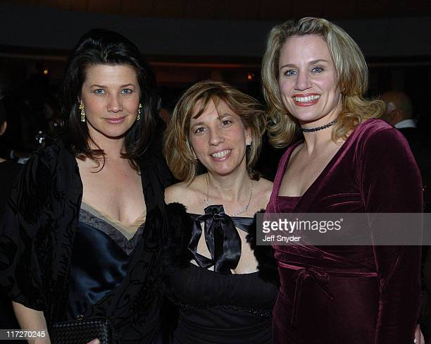 Daphne Zuniga Robin Bronk of the Creative Coalition with Cady Huffman
