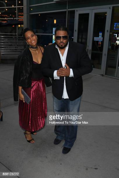 Daphney Wayans and Al B Sure are seen on August 23 2017 in Los Angeles CA