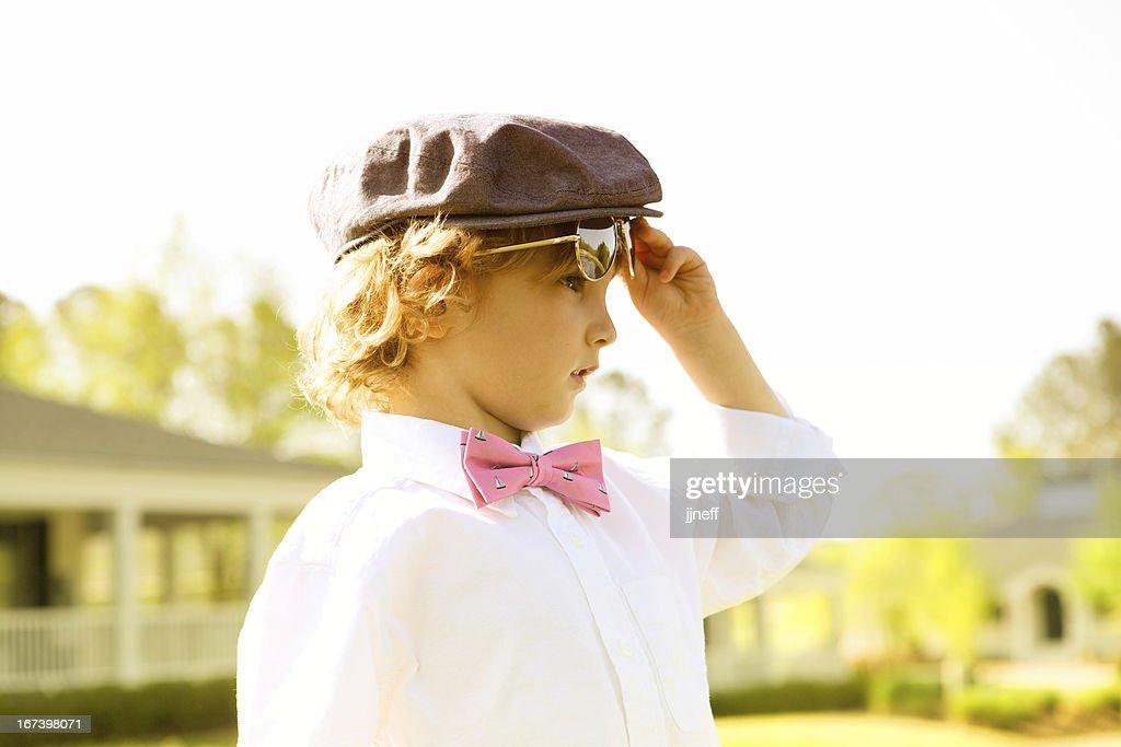 粋な少年 : ストックフォト
