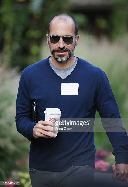 Dara Khosrowshahi CEO Expedia Inc attends the Allen Company Sun Valley Conference on July 9 2015 in Sun Valley Idaho Many of the worlds wealthiest...