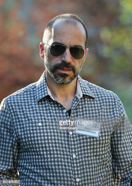 Dara Khosrowshahi chief executive officer of Expedia Inc attends the Allen Company Sun Valley Conference on July 9 2014 in Sun Valley Idaho Many of...