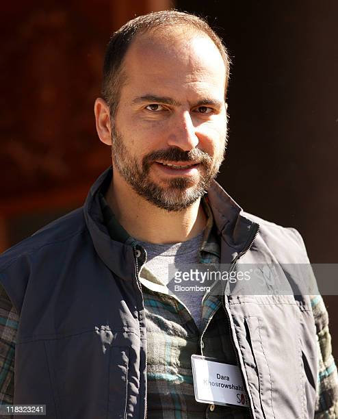 Dara Khosrowshahi president and chief executive officer of Expedia Inc leaves the morning session in Sun Valley Idaho US on Wednesday July 6 2011...