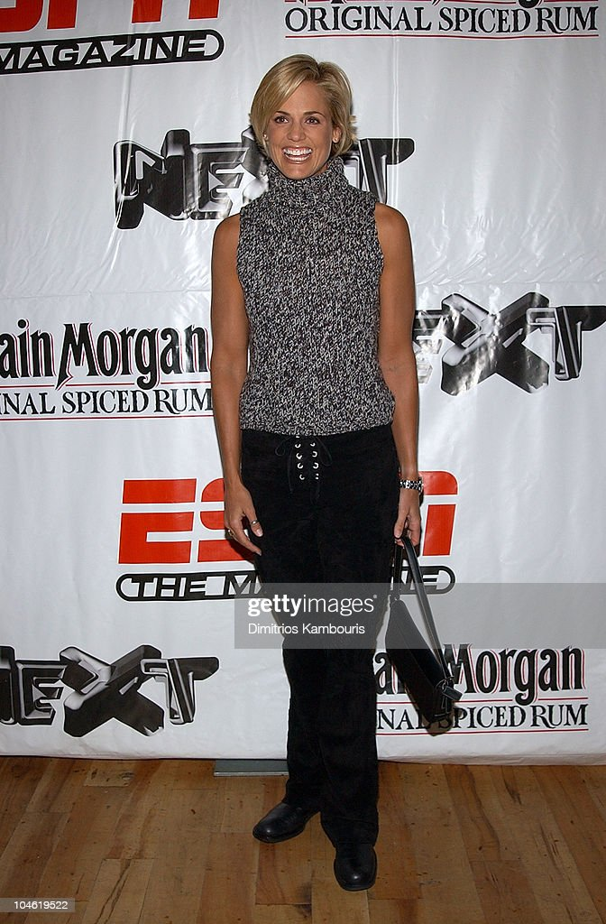 <a gi-track='captionPersonalityLinkClicked' href=/galleries/search?phrase=Dara+Torres&family=editorial&specificpeople=2419430 ng-click='$event.stopPropagation()'>Dara Torres</a> during Party for ESPN The Magazine's 'Next' 2003 Athlete Year End Issue at EXIT in New York City, New York, United States.