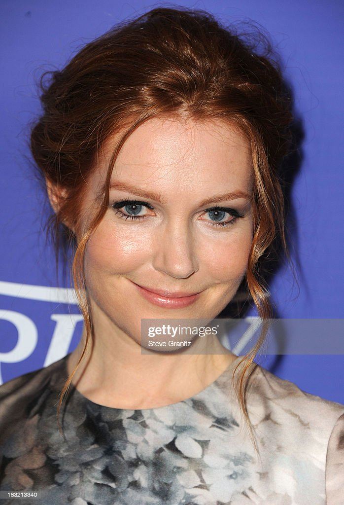 Darby Stanchfield arrives at the Variety's 5th Annual Power Of Women Event at the Beverly Wilshire Four Seasons Hotel on October 4, 2013 in Beverly Hills, California.