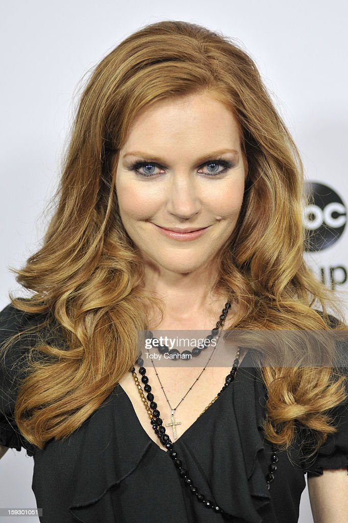 Darby Stanchfield arrives for the Disney ABC '2013 WInter TCA Tour' event at The Langham Huntington Hotel and Spa on January 10, 2013 in Pasadena, California.