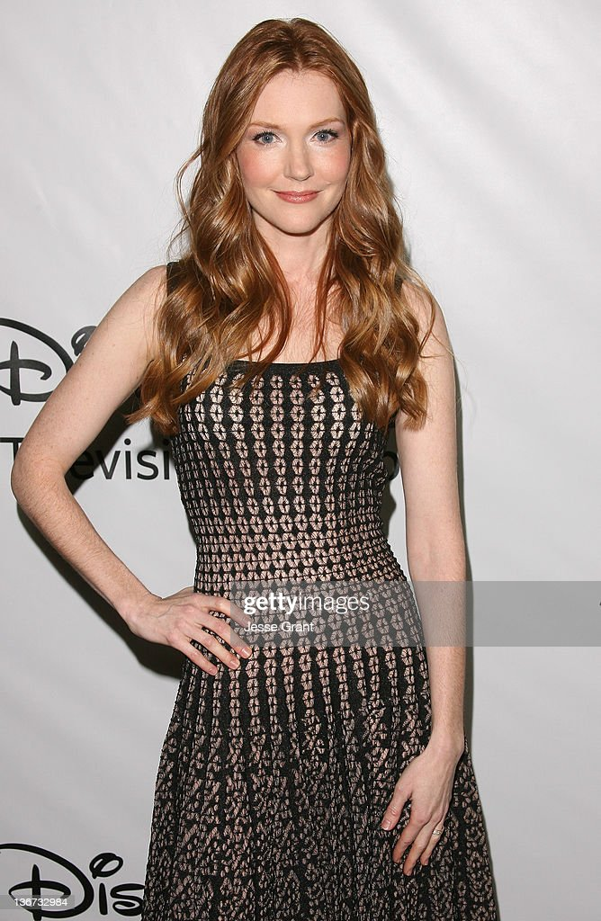 Darby Stanchfield arrives to Disney ABC Television Group's 'TCA Winter Press Tour' at the Langham Huntington Hotel on January 10, 2012 in Pasadena, California.