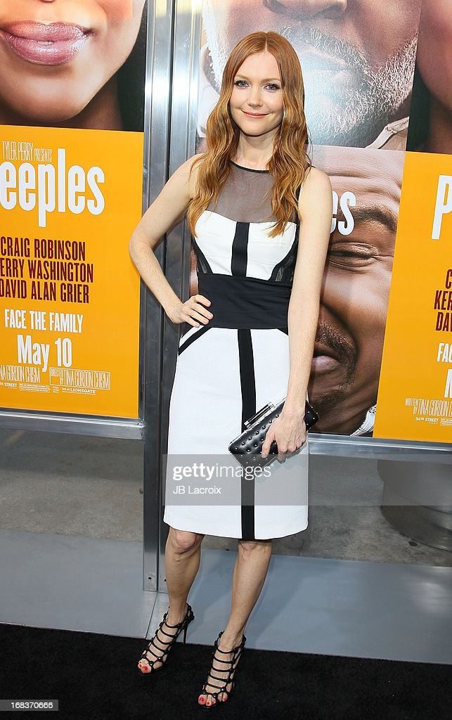 Darby Stanchfield attends the 'Peeples' Premiere held at ArcLight Hollywood on May 8, 2013 in Hollywood, California.