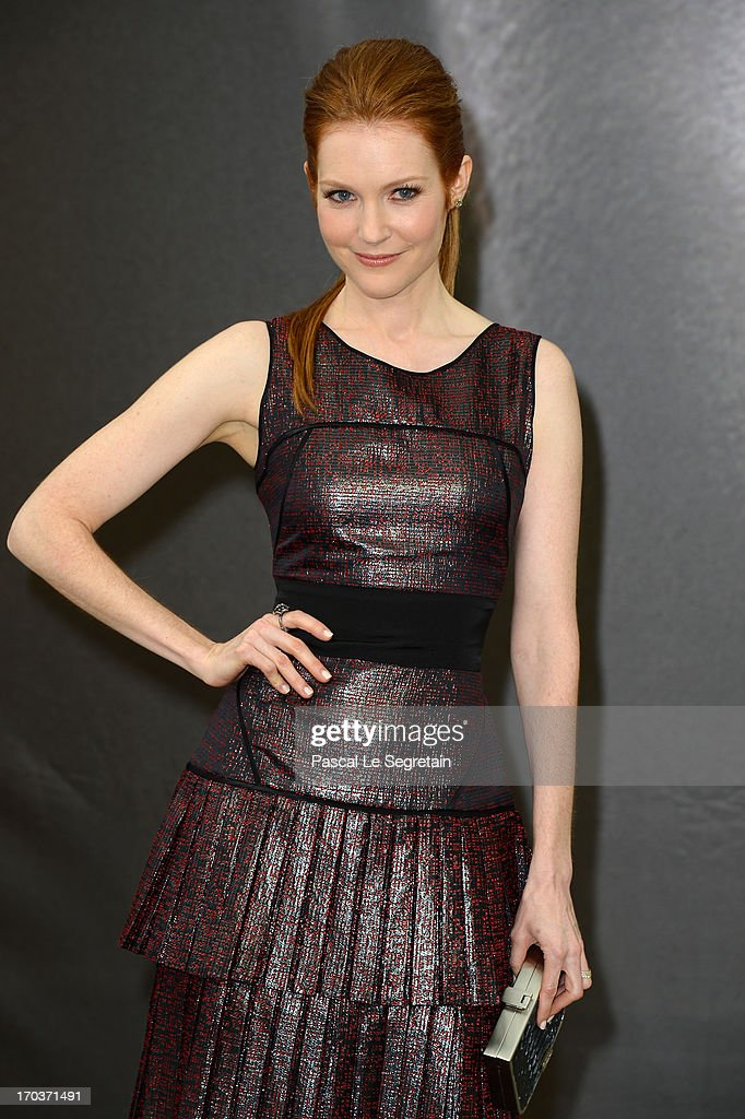 Darby Stanchfield poses at a photocall during the 53rd Monte Carlo TV Festival on June 12, 2013 in Monte-Carlo, Monaco.