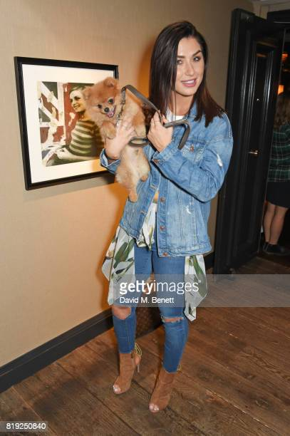 Darby Ward attends the launch of Rosewood's Canine Luxury Experience hosted by Rosewood London and Barbour in association with Lily's Kitchen at on...