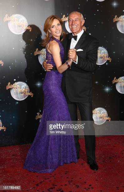 Darcey Bussell and Len Goodman attend the launch of Strictly Come Dancing 2012 at BBC Television Centre on September 11 2012 in London England