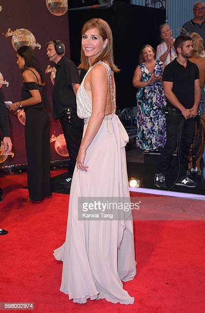 Darcey Bussell arrives for the Red Carpet Launch of 'Strictly Come Dancing 2016' at Elstree Studios on August 30 2016 in Borehamwood England