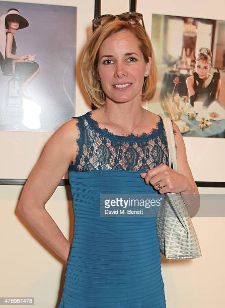 Darcey Bussell attends a private view of new exhibition 'Audrey Hepburn Portraits Of An Icon' at the National Portrait Gallery on June 29 2015 in...