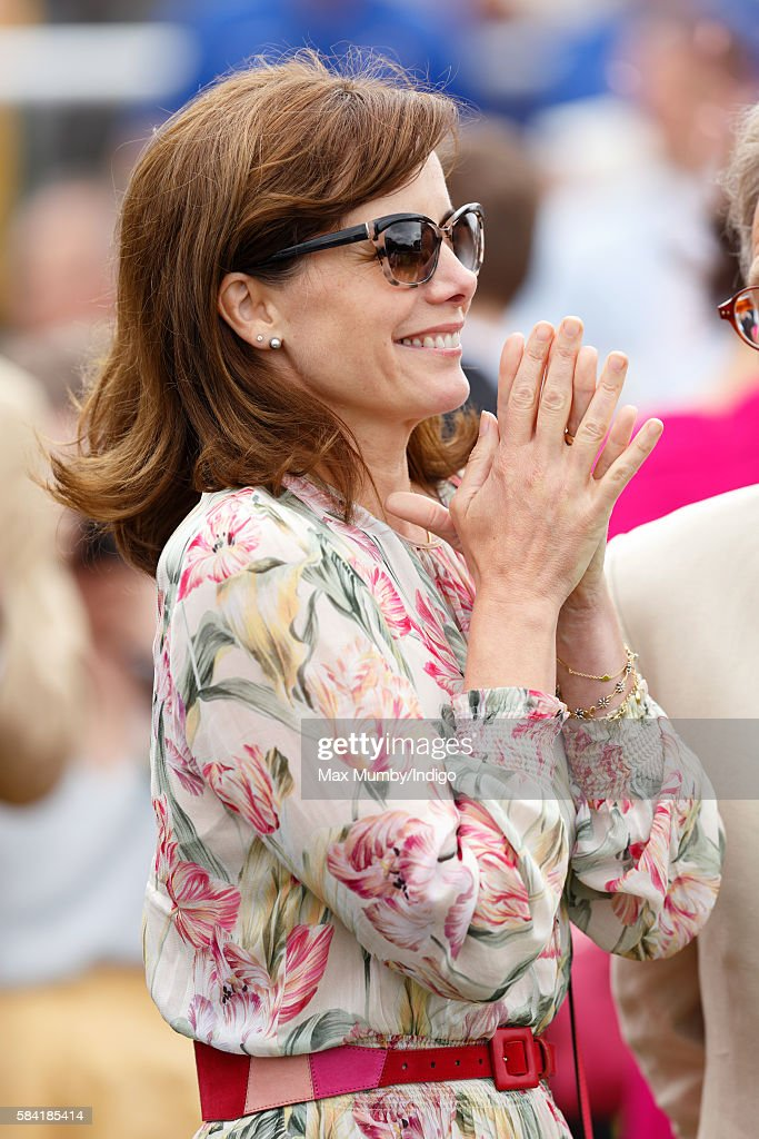 Darcey Bussell attends Ladies Day of the Qatar Goodwood Festival at Goodwood Racecourse on July 28, 2016 in Chichester, England.