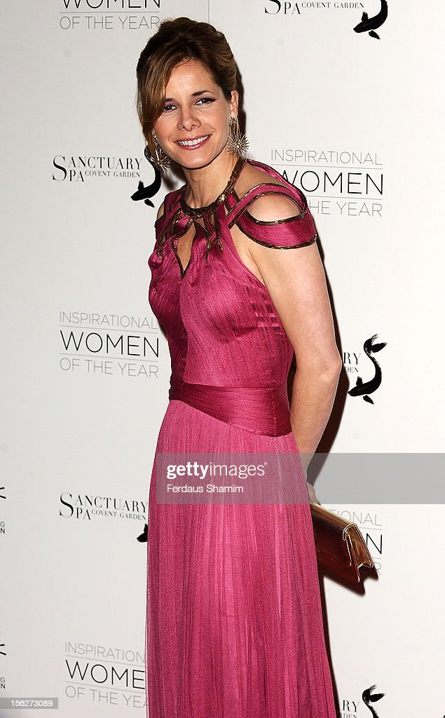 Darcey Bussell attends The Daily Mail Inspirational Women of the Year Awards, sponsored by Sanctuary Spa and in aid of Wellbeing of Women, at Marriott Hotel Grosvenor Square on November 12, 2012 in London, England.