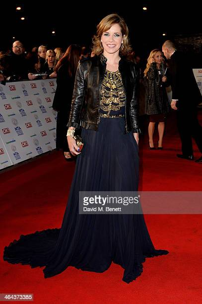 Darcey Bussell attends the National Television Awards at the 02 Arena on January 22 2014 in London England