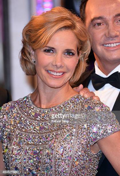 Darcey Bussell attends the red carpet launch for Strictly Come Dancing 2014 at Elstree Studios on September 2 2014 in Borehamwood England