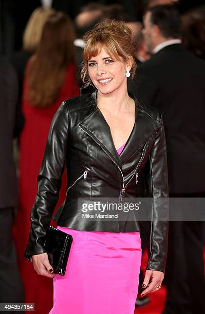 Darcey Bussell attends the Royal Film Performance of 'Spectre' at Royal Albert Hall on October 26 2015 in London England