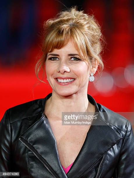 Darcey Bussell attends the Royal Film Performance of 'Spectre' at The Royal Albert Hall on October 26 2015 in London England