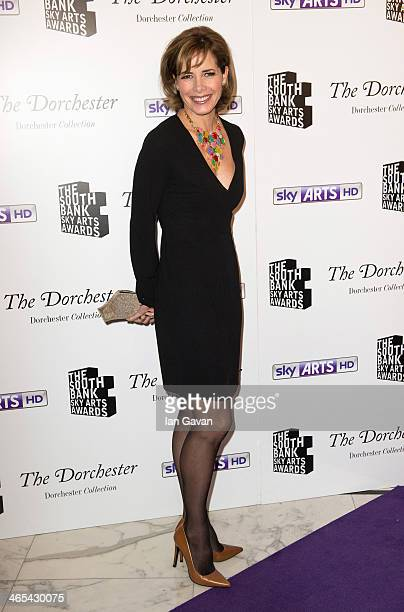 Darcey Bussell attends the South Bank Sky Arts awards at Dorchester Hotel on January 27 2014 in London England