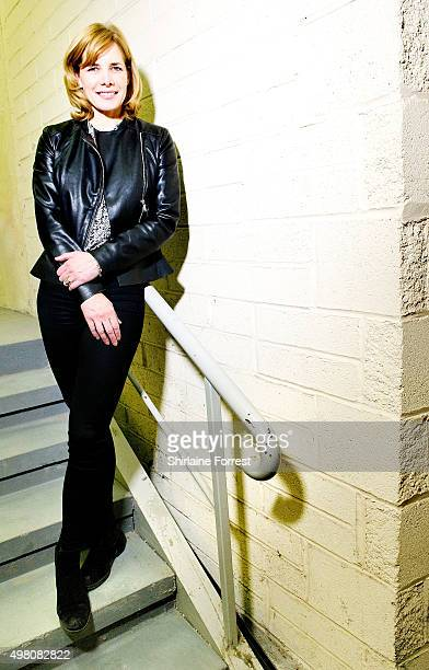 Darcey Bussell poses backstage after meeting fans and signing copies of her new compilation album 'Darcey Bussell Ballet Collection' at HMV Blackpool...