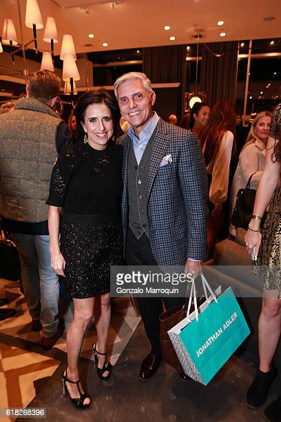 Darcy MillerRandy Fenoli at the Darcy Miller's 'Celebrate Everything' Launch at Jonathan Adler Showroom at Jonathan Adler Showroom on October 25 2016...