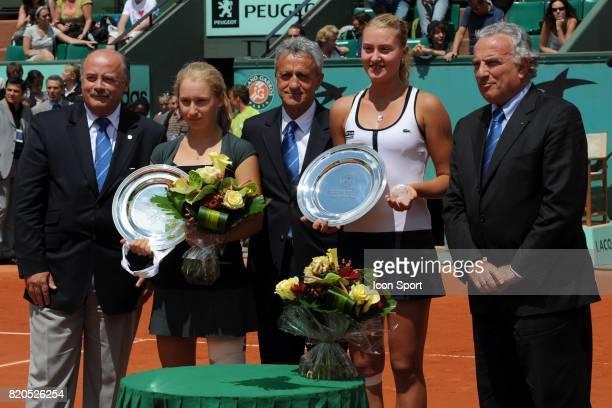 Daria GAVRILOVA / Kristina MLADENOVIC Finale Simple Junior Kristina MLADENOVIC / Daria GAVRILOVA Roland Garros 2009 Paris