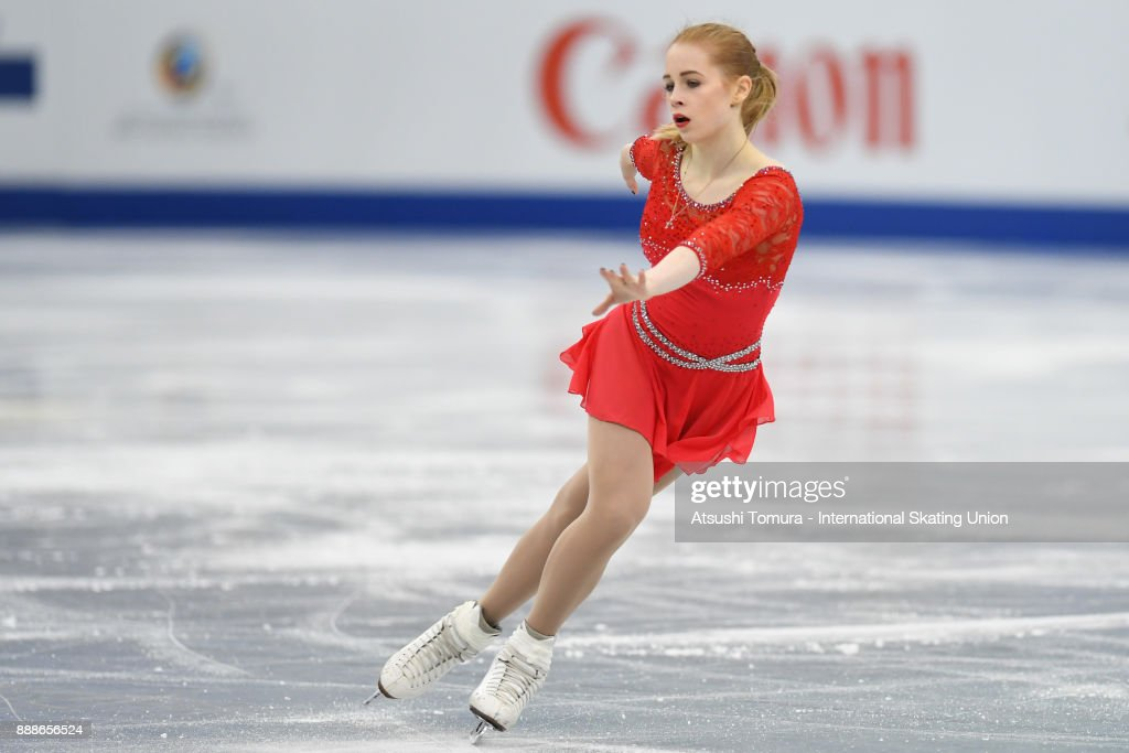 Дарья Паненкова - Страница 7 Daria-panenkova-of-russia-competes-in-the-junior-ladies-free-skating-picture-id888656524