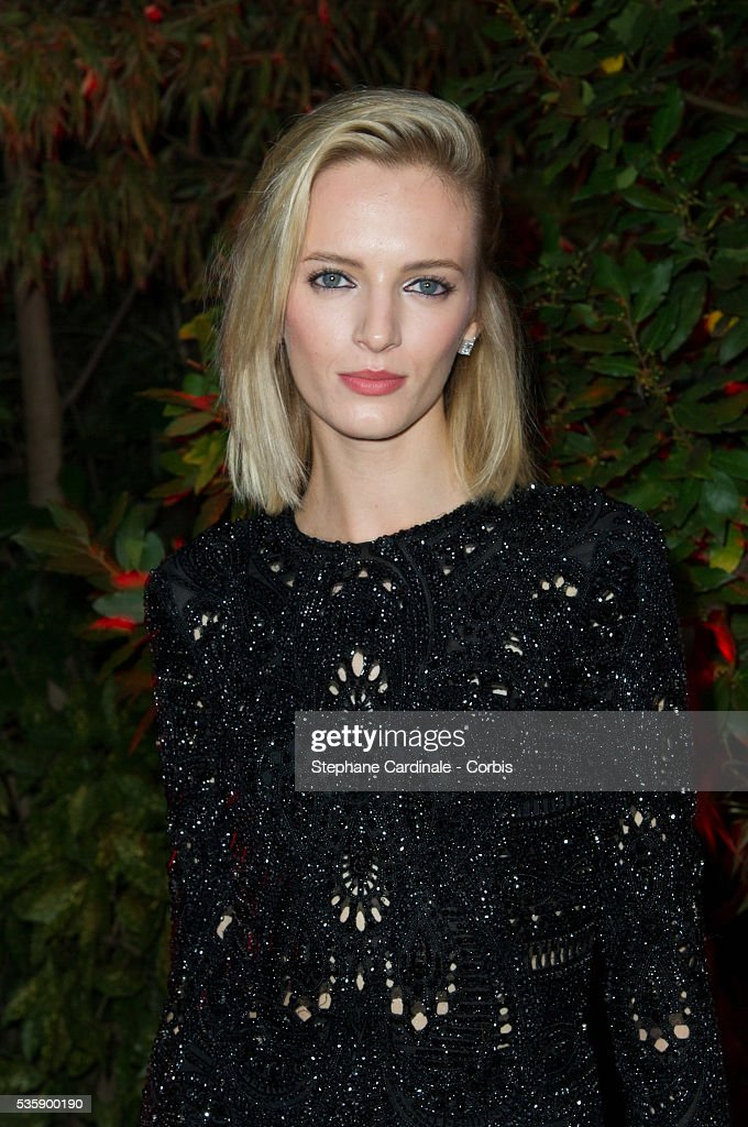 Daria Stokous attends the 'Mademoiselle C' Party at Pavillon Ledoyen, as part of the Paris Fashion Week Womenswear Spring/Summer 2014, in Paris.