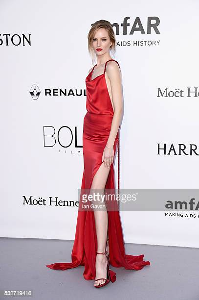 Daria Strokous arrives at amfAR's 23rd Cinema Against AIDS Gala at Hotel du CapEdenRoc on May 19 2016 in Cap d'Antibes France