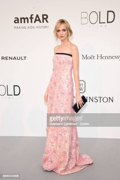 Daria Strokous arrives at the amfAR Gala Cannes 2017 at Hotel du CapEdenRoc on May 25 2017 in Cap d'Antibes France