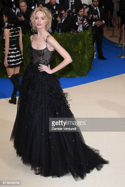 Daria Strokous attends 'Rei Kawakubo/Comme des Garcons Art Of The InBetween' Costume Institute Gala Arrivals at Metropolitan Museum of Art on May 1...