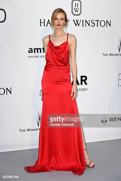 Daria Strokous attends the amfAR's 23rd Cinema Against AIDS Gala at Hotel du CapEdenRoc on May 19 2016 in Cap d'Antibes France