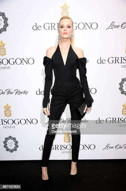 Daria Strokous attends the De Grisogono 'Love On The Rocks' party during the 70th annual Cannes Film Festival at Hotel du CapEdenRoc on May 23 2017...