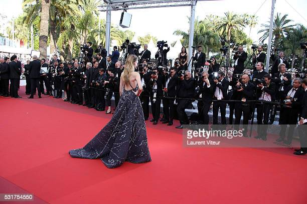 Daria Strokous attends the 'Loving' premiere during the 69th annual Cannes Film Festival at the Palais des Festivals on May 16 2016 in Cannes