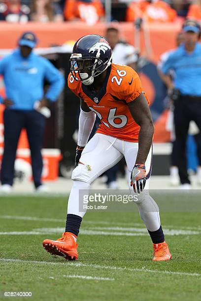 Darian Stewart of the Denver Broncos in action during the game against the San Diego Chargers at Sports Authority Field At Mile High on October 30...