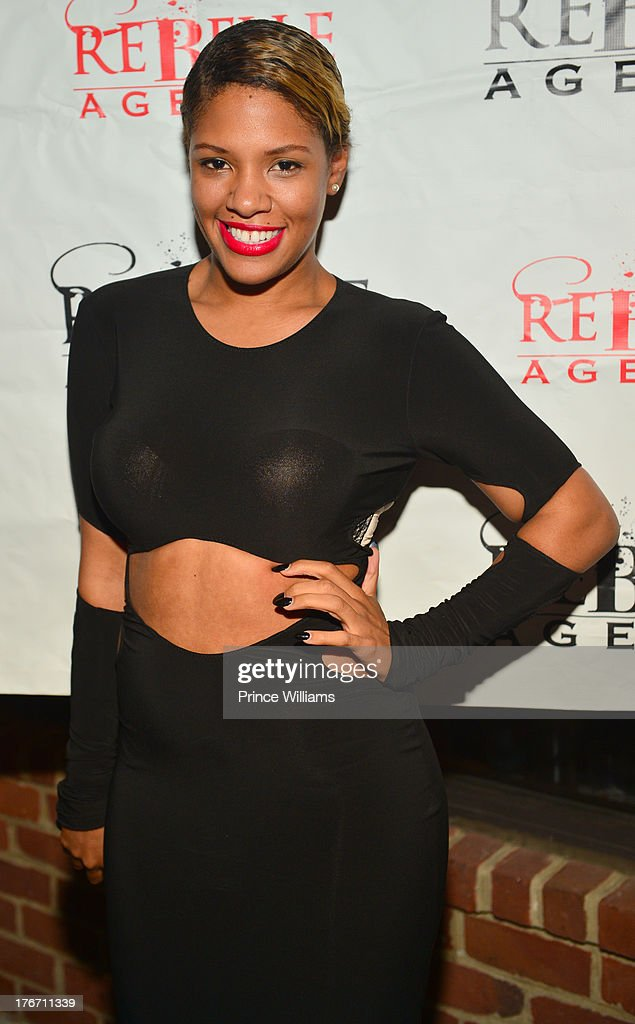 Dariana Colon-Bibb attends the Host Rebelle Agency PR Launch party at La Mongerie on August 16, 2013 in Atlanta, Georgia.