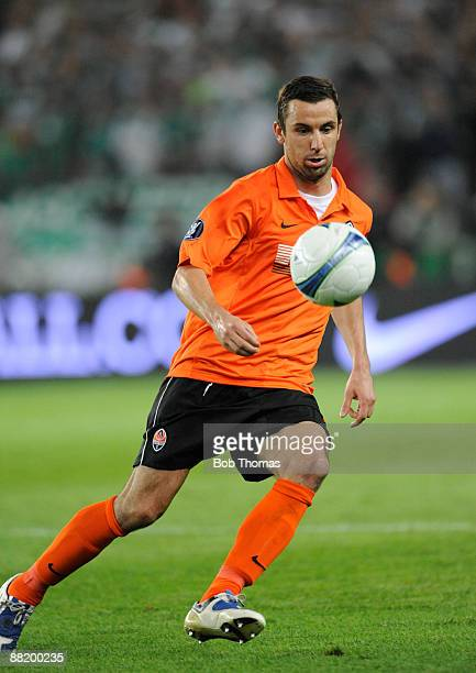 Darijo Srna of Shakhtar Donetsk during the UEFA Cup Final between Shakhtar Donetsk and Werder Bremen at the Sukru Saracoglu Stadium on May 20 2009 in...