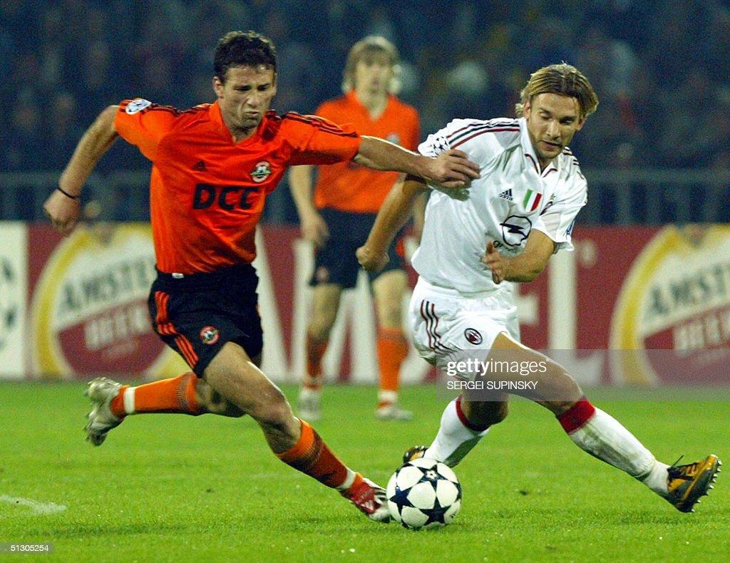Darijo Srna L of Ukraine s FC Shakhtar