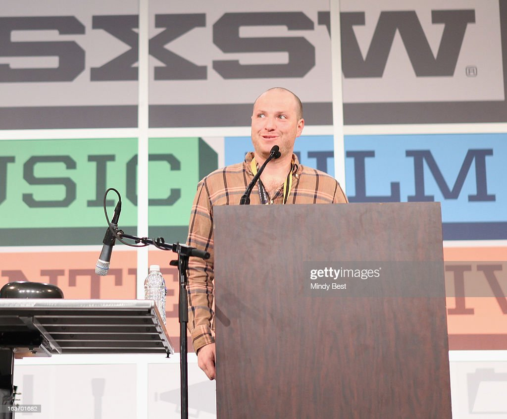 Darin Klein speaks onstage at SXSW Keynote: Dave Grohl during the 2013 SXSW Music, Film + Interactive Festival at Austin Convention Center on March 14, 2013 in Austin, Texas.