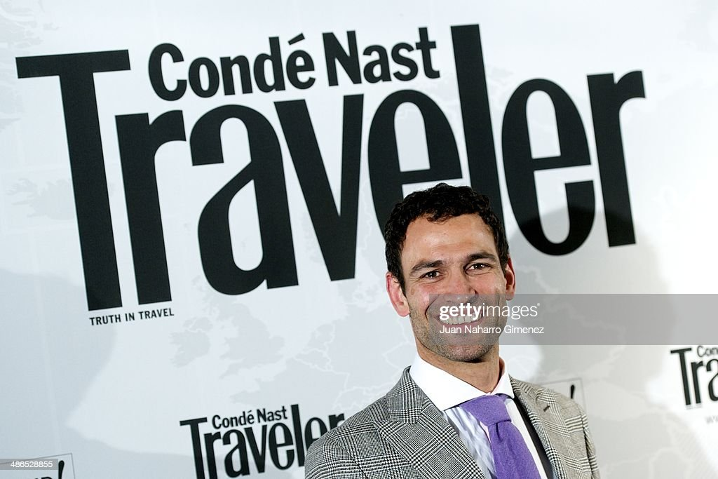 Dario Barrio attends the Conde Nast Traveler Awards 2014 at the Jardines de Cecilio Rodriguez on April 24, 2014 in Madrid, Spain.