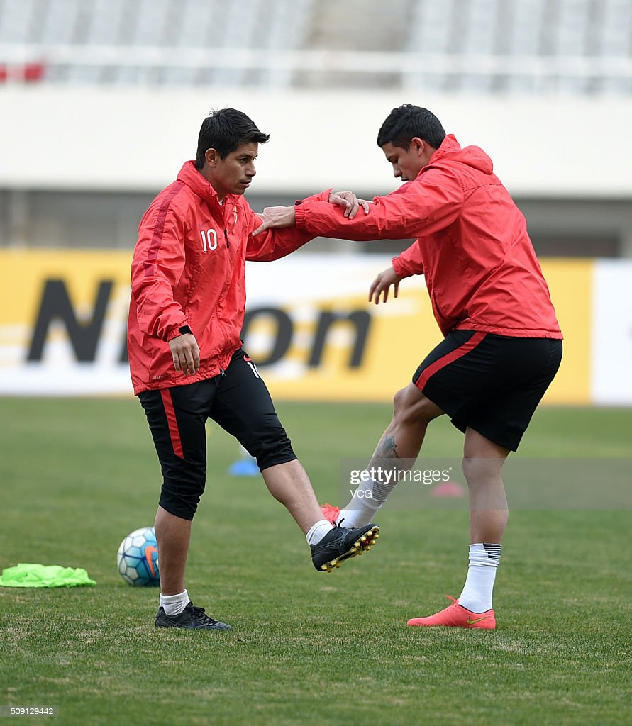 Shanghai SIPG Training Session s and