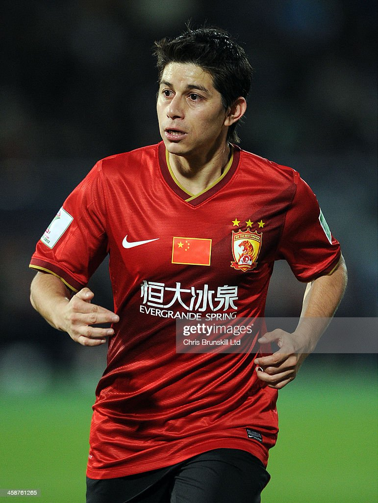 Dario Conca of Guangzhou Evergrande FC in action during the FIFA Club World Cup 3rd Place Match between Guangzhou Evergrande FC and Atletico Mineiro...