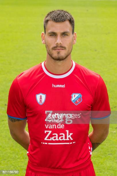 Dario Dumic during the team presentation of FC Utrecht on July 22 2017 at Sportcomplex Zoudenbalch in Utrecht The Netherlands