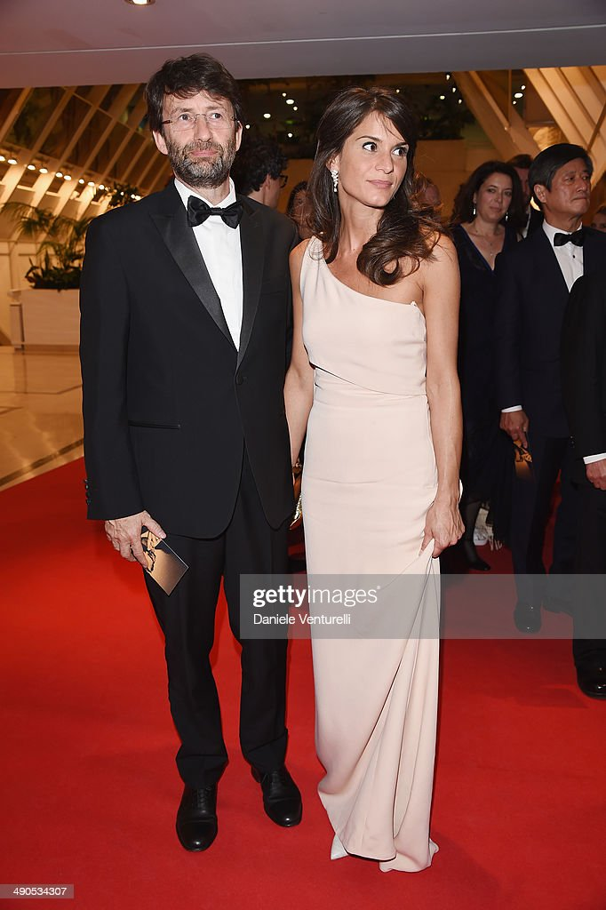 <a gi-track='captionPersonalityLinkClicked' href=/galleries/search?phrase=Dario+Franceschini&family=editorial&specificpeople=4851356 ng-click='$event.stopPropagation()'>Dario Franceschini</a> and Michela Di Biase attend the Opening Ceremony Dinner at the 67th Annual Cannes Film Festival on May 14, 2014 in Cannes, France.