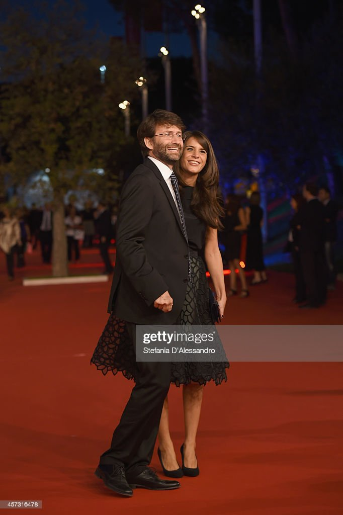 <a gi-track='captionPersonalityLinkClicked' href=/galleries/search?phrase=Dario+Franceschini&family=editorial&specificpeople=4851356 ng-click='$event.stopPropagation()'>Dario Franceschini</a> and Michela Di Biase attend the Rome Film Festival Opening and 'Soap Opera' Red Carpet during the 9th Rome Film Festival at Auditorium Parco Della Musica on October 16, 2014 in Rome, Italy.
